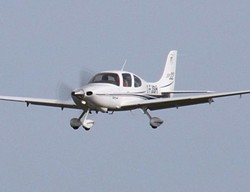 A small Cirrus SR-22 plane like this crashed early morning. - VIA WIKIMEDIA COMMONS