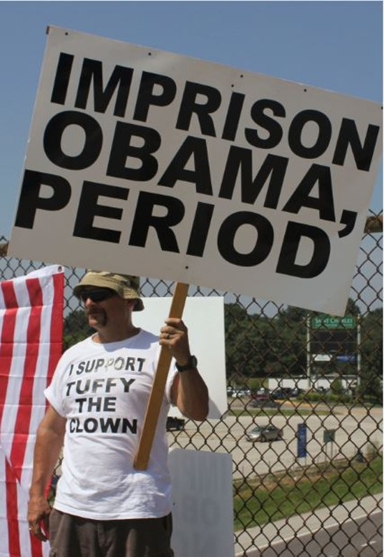 Impeach Obama Protesters Arrested On Overpass Will Not