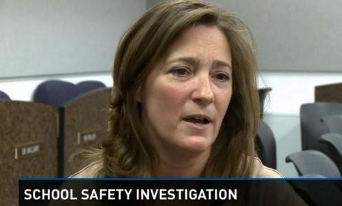 Ginger Cayce, Kirkwood's communications director, on the KSDK report. - KSDK