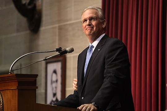"""During his State of the State Address, Governor Jay Nixon argued that """"No Missourian should be fired because of who they are or who they love."""" - VIA"""