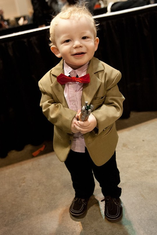 He'll blame his parents later. For now, he's adorable. - JON GITCHOFF
