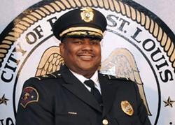 Police Chief Michael Floore of East St. Louis, Illinois. - VIA