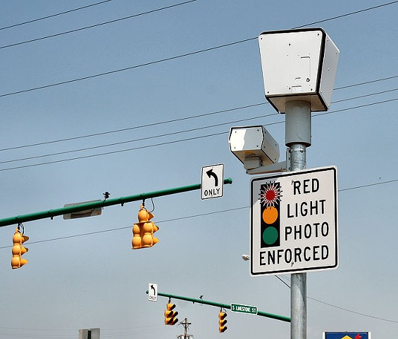Red-light-camera ban: How would you vote?