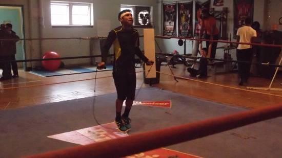 Eloy Perez (23-0-2) - ALBERT SAMAHA