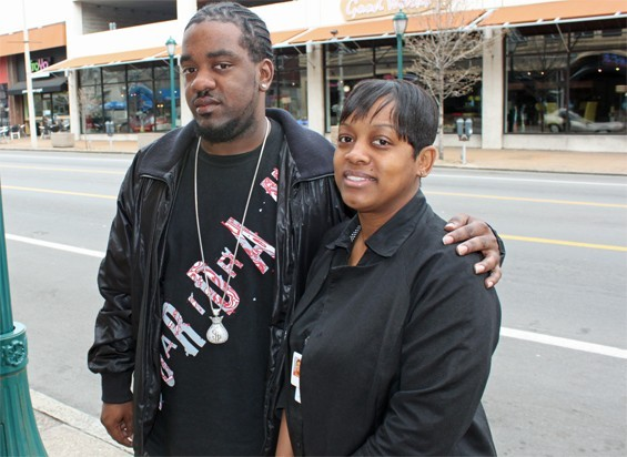 Nikki Smith and her brother Edward Thames Jr.