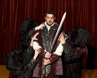 Macbeth (Dario Musumeci) has a lot on his mind these days. - PHOTO: AUGUST JENNEWEIN/UMSL