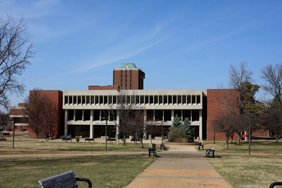 The University Libraries on UMSL's campus. - ALL PHOTOS BY CHRIS NAFFZIGER
