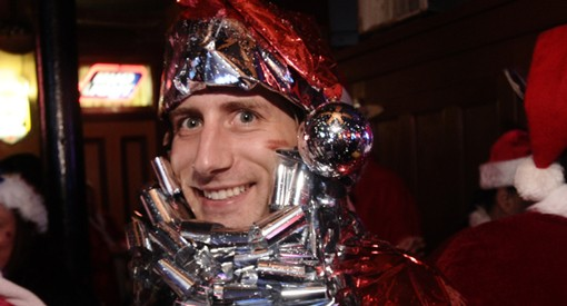 Revelers with Santarchy '09 made their way to about 20 bars in St. Louis on Saturday. See more photos here. - PHOTO: EGAN O'KEEFE