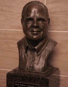 Rush Limbaugh bust. - VIA HOUSE.MO.GOV