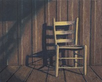 Porch Chair on display at the Gateway Gallery. - BY GARY MCMICHAEL