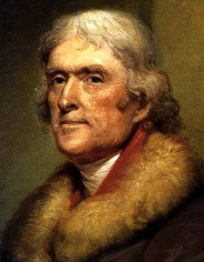 Namesake Thomas Jefferson was never fat.