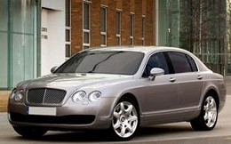 Sinquefield's 2008 Bentley Continential Flying Spur could provide the city with $3,000 in taxes this year -- if he registered it in St. Louis.