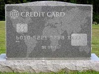 Unable to pay off a funeral? Don't answer the phone... - IMAGE VIA