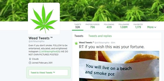 If they tweet, will your kids smoke? - TWITTER/STILLBLAZINGTHO