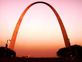 Hey Daily Beast,don't you know the Arch is really just a big smile turned upside-down? - IMAGE VIA