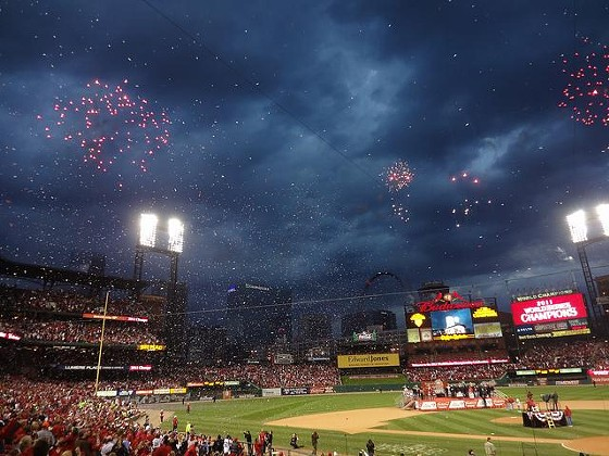 Cardinals win their eleventh World Series in 2011. - VIA PASA 47 ON FLICKR