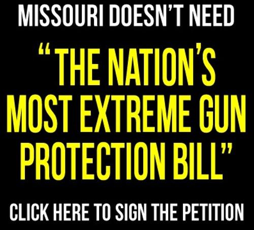 Advocacy group Progress Missouri's online campaign against the Second Amendment Preservation Act. - VIA FACEBOOK