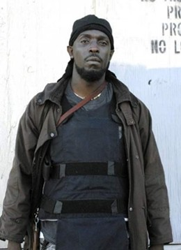 Omar Little on The Wire liked to wear body armor, too. - IMAGE VIA