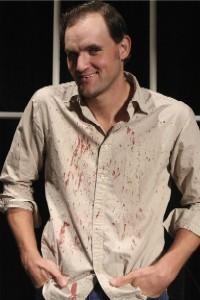 Broken, bloody and a murderer -- what's not to love? - PHOTO: JILL RITTER
