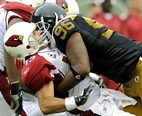 If the Steelers smack the Cardinals as hard as Pierce, the game will be over in no time.