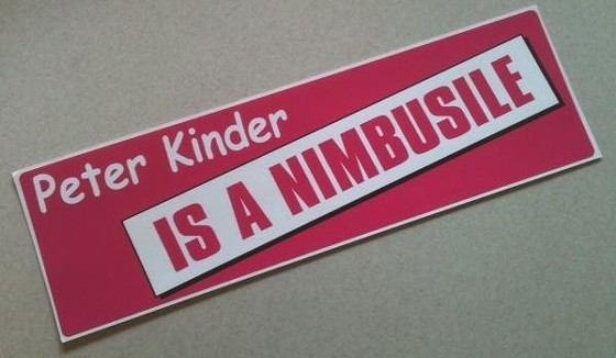 Want this bad boy on your rear bumper? Provide us with the most creative answer to the question below and it's yours!
