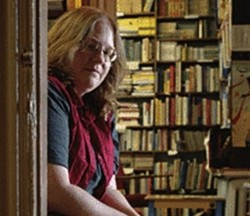 Michelle Barron at the Book House. - JENNIFER SILVERBERG FOR RFT