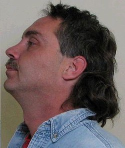 Stephen Bolin: Plenty of time to mullet over in jail.