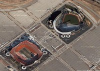 Truman Sports Complex - GOOGLE EARTH