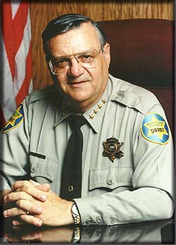 Sheriff Joe Arpaio wants you to vote for Ed.