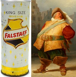 Drink Falstaff and be jolly! - WWW.TAVERNTROVE.COM | WIKIMEDIA.ORG