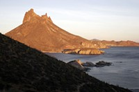 If they're gonna build a canal, why not a mountain, too? Just like in the real San Carlos, Mexico! - WIKIMEDIA COMMONS