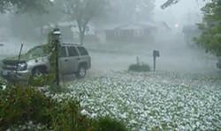 What the hail?