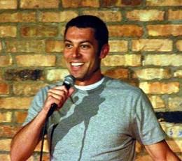 Rob Durham, teacher/comic