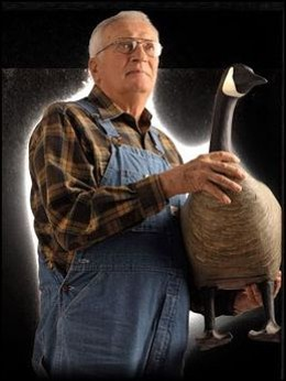 Art Ladehoff, founder of Big Foot Decoys - IMAGE VIA