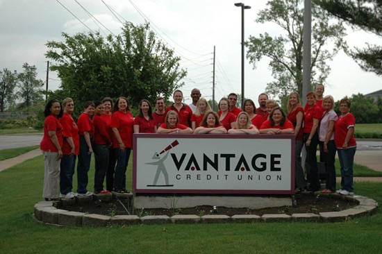 Vantage Credit Union. - VIA FACEBOOK