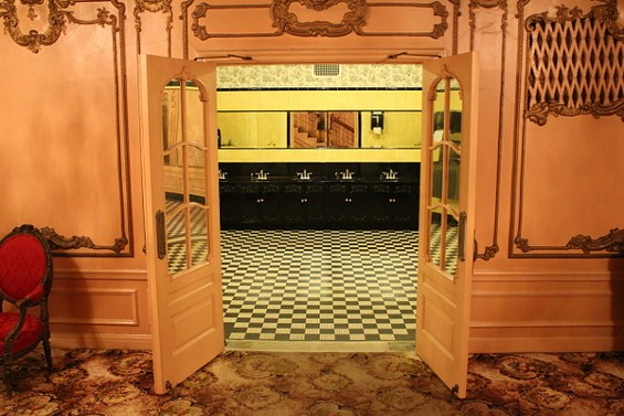 Could this be the best bathroom in the country? - PHOTOS COURTESY OF THE FABULOUS FOX THEATRE