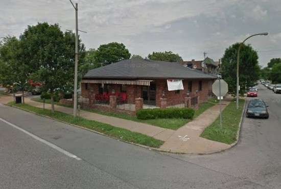 Paulsen was shot here on the 4200 block of Neosho Street in the Bevo neighborhood. - GOOGLE MAPS