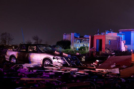 The tornado that tore through Joplin on May 22 killed 134 people. - MIKE MEZUEL