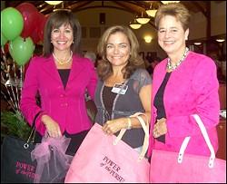 Francine Katz (far left) hosting a United Way event. - WWW.UWBB.ORG