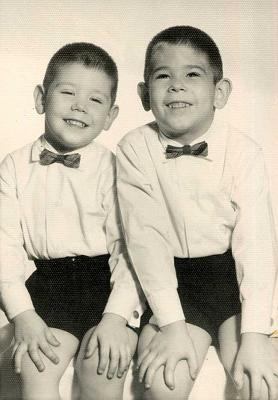 The Blagojevich brothers in 1960. - IMAGE VIA