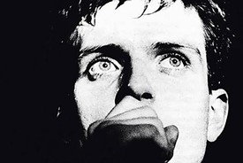 Ian Curtis, clearly haunted by the specter of a future Nebraska victory.
