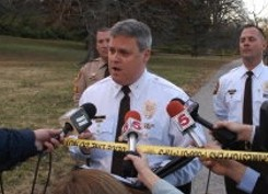 County Police Chief Tim Fitch. - VIA TWITTER