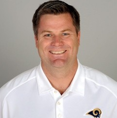 Rams tight-ends coach Rob Boras got his rings stolen - IMAGE VIA