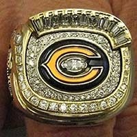 The Chicago Bears' 2006 NFC Championship Ring - IMAGE VIA