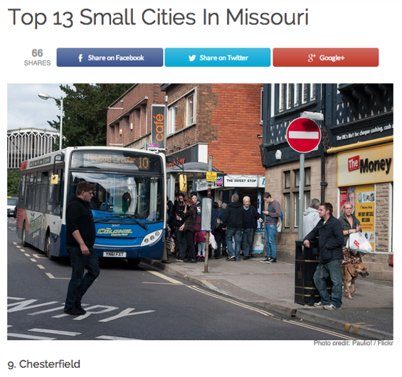 "That's a photo taken by Flickr user Paulio to illustrate ""Chesterfield."""