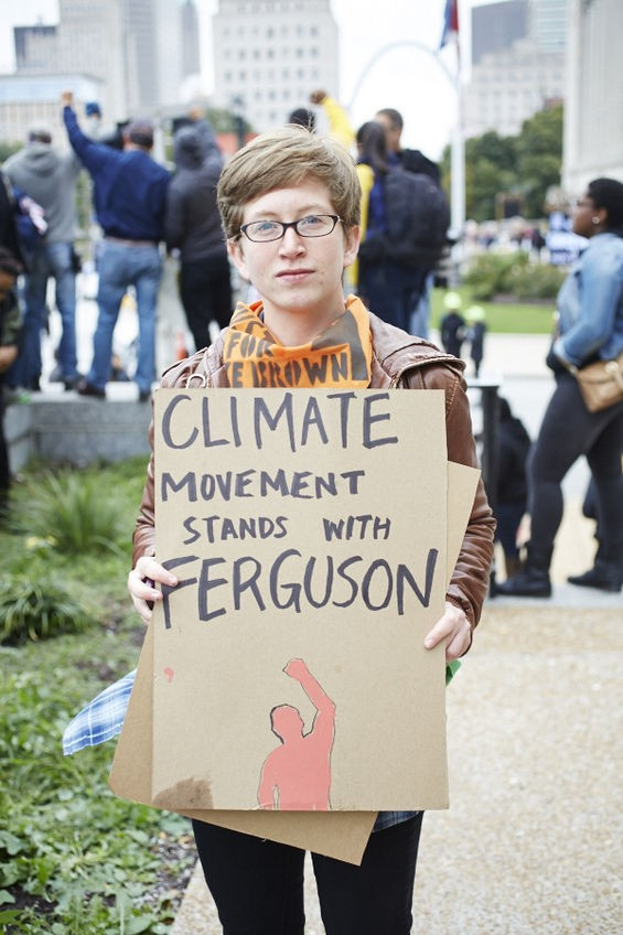 Activists from other movements have joined Ferguson demonstrators.