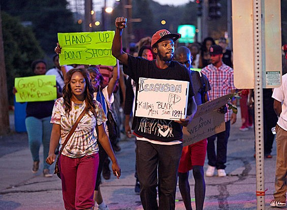 You might be a Ferguson or Shaw protester if... - STEVE TRUESDELL VIA