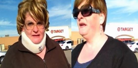 Aunt Claudette and Libby Higgins. - CNN IREPORT