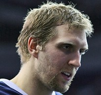 The Dallas Mavericks' Dirk Nowitzki. - VIA FLICKR.