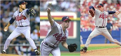 Smoltz, Maddux and Glavine.